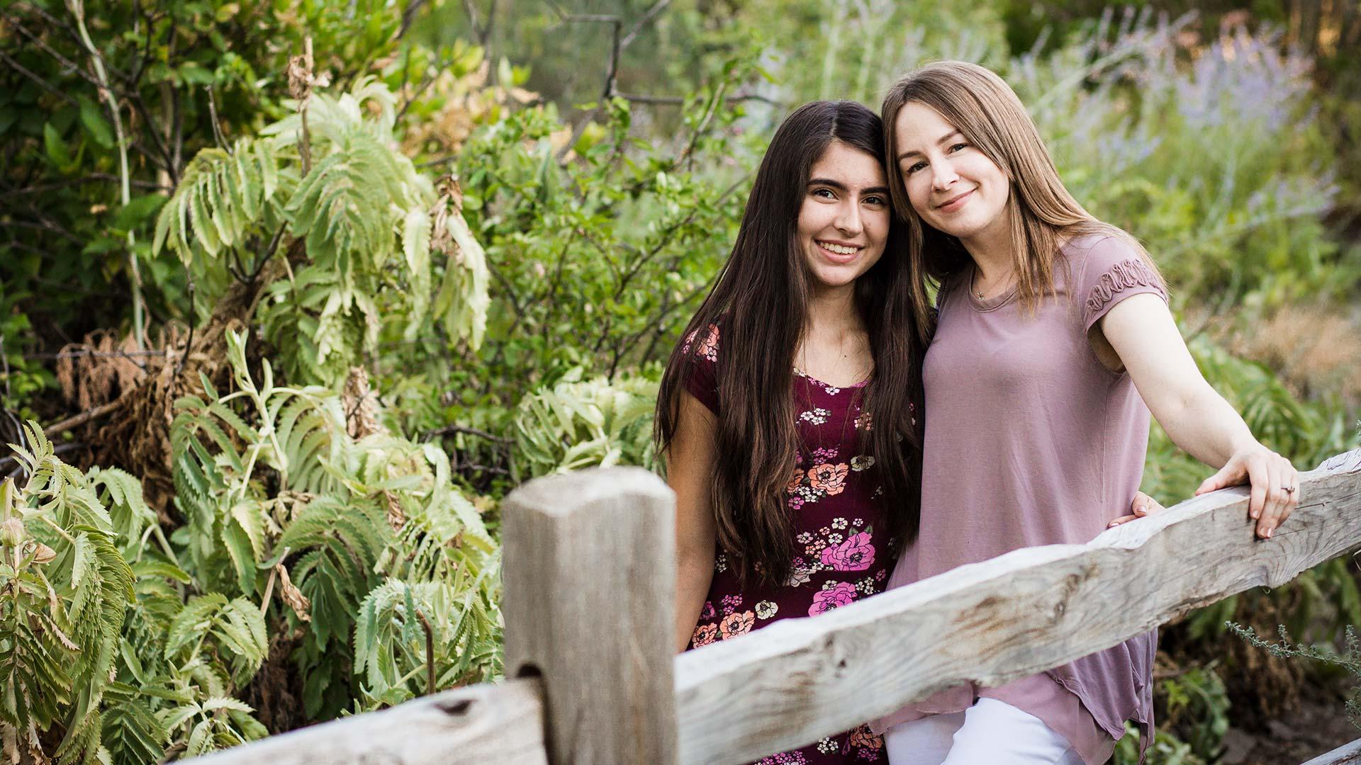 Alivia and Jen